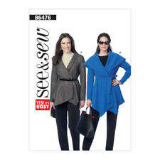Butterick Adult Coat/Jacket Sewing Patterns