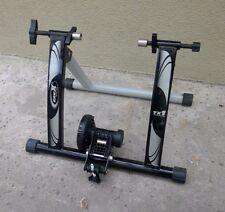 lightly used ASSEMBLED Bicycle Trainer Indoor RAVX TX1 Trainer Black, Adjustable