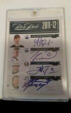 2011/12 DOMINION PEN PALS QUAD AUTO STAMKOS,TAVARES, HALL.NUGENT-HOPKINS 01/10