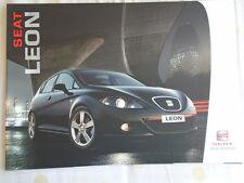Seat Leon range brochure Jun 2006