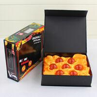 7pcs 3.5CM JP Anime Dragon Ball Z Stars Crystal Collection ball Figure Set box