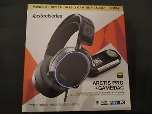 SteelSeries Arctis Pro + GameDAC Over-Ear Headset - Black PC and PS4