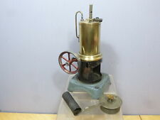 """VINTAGE STEAM """"UNKNOWN """"  MODEL OF A VERTICAL STATIONARY BOILER"""