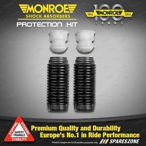 Rear Monroe Urethane Bumper & Dust Boot Kit for Mazda 323 Protege Astina BJ1
