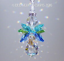 m/w Swarovski Ocean Colors *Angel of the Sea* SunCatcher Lilli Heart Designs