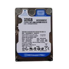 "WD 320GB WD3200BEVE 5400RPM PATA/IDE/EIDE 2.5"" Laptop Hard Drive"