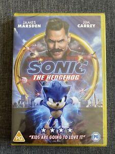 Sonic The Hedgehog DVD [2020] NEW SEALED DVD