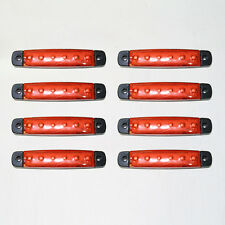 8x 24v LED ROJO luces intermitentes Posición Faro Lateral Marcador