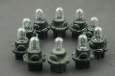 10PCS Universal Auto Car 12V 1.4W T5 instrument panel light bulbs & holder