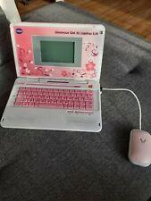 VTech Glamour Girl XL Laptop E/R Lerncomputer - Weiß/Rosa (80-117964)