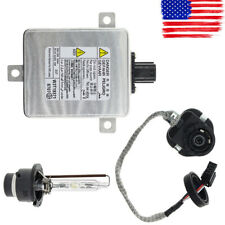 HID Xenon Ballast & Igniter & D2S Bulb Headlight Unit Module For Honda cura