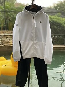 LACOSTE SPORT TWO TONE TRACKSUIT MEDIUM WH8606