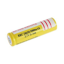18650 3.7V 5000mAh Li-ion Rechargeable Li-ion Battery for Led Flashlight CY