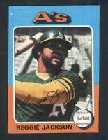 1975 Topps #300 Reggie Jackson NM/NM+ Athletics 124279