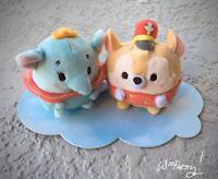 UFUFY Cute Disney Mini Plush Baby DUMBO & TIMOTHY MOUSE Circus 2 Set NWT