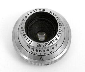 Meyer Gorlitz Trioplan 17mm f/2.8 C-Mount Lens
