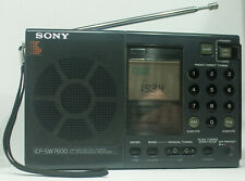 SONY ICF-SW7600. LW/MWSW/FM STEREO PLL SYNTHESIZED RECEIVER