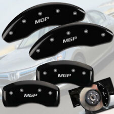 "2003-2011 Honda Element Front + Rear Black ""MGP"" Brake Disc Caliper Covers 4pc"