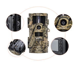 CT006 Trail Camera 20MP Full HD Digital Scouting IR Night Vision Home Security