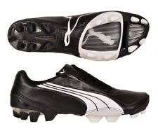 Puma V1.08 K i FG 42 1/2 UK 8,5 Leder schwarz weiß Nockenschuhe Nocke Fußball