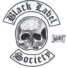 Black Label Society BLS Biker Set Of 4 Big Embroidered Back Vest Patch Patches
