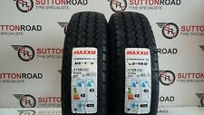 175/80 13 C MAXXIS 175R13C NEW UE 168 LT TRAILER MID RANGE TYRES X 2 FITTING £15