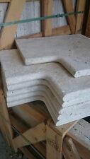 Sample of Travertine Pool Coping & Bull nose corner stones, Window sills