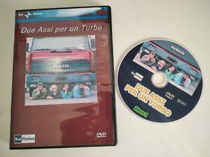 """DVD SET-BOX SERIE TV FUORI CATALOGO """"DUE ASSI PER UN TURBO"""" 1987 12 EP--4 DVD"""