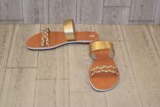 **BC Footwear 'Wee' Slide Sandal, Women's Size 9, Gold
