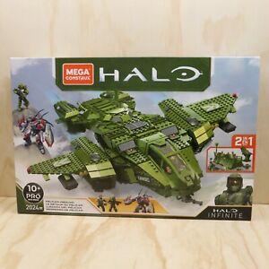 2020 Mega Construx Halo Infinite Pelican Inbound Vehicle Set 2024 Pieces - New