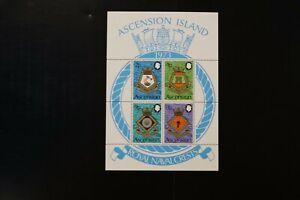 Ascension #169a 1973 VF MNH s/s 2020 cv$24.00 (d022)