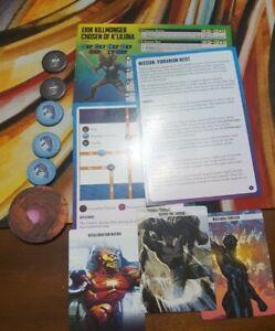 Crisis Protocol Marvel- Vibranium Heist Killmonger OP kit