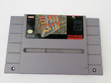 SNES Sim City Authentic Super Nintendo Game Only TESTED