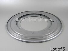 LOT OF 5 FLAT LAZY SUSAN BEARINGS - 9 INCH ROUND -