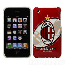 COVER GUSCIO DECORATA A.C. MILAN 1899 PER APPLE IPHONE 3G & APPLE IPHONE 3Gs