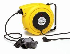 ZECA 4315/GS3 15 MT Extension Cord Electric Rewind Cable Reel Winder