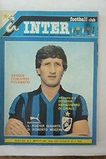 *INTER FOOTBALL CLUB N 3  1980  - OTTIMO - ORIALI -  MARINI