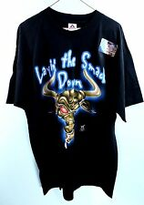 """*NEW* Mens WWF The Rock """"Laying The Smackdown"""" Wrestling Shirt Size XL WWE_R39"""