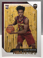2018-19 Panini NBA Hoops Collin Sexton #280 RC Rookie Card Cavaliers SP