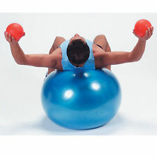 Balon Pilates Pelota Fitness Yoga Azul 65cm diametro