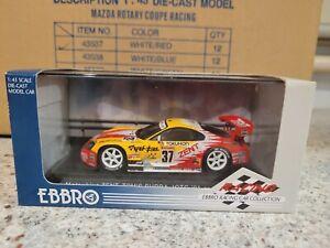EBBRO RACING SERIES - TOYOTA SUPRA MATSUKIYO ZENT TOMS JGTC 2001 VTHF MINT