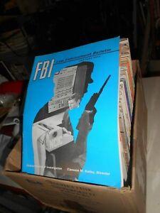 LIBRO: militare rivista anni vari FBI Law Enforcement Bulletin FBI Law E