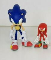 Sonic the Hedgehog and Knuckles Action Figures Posable - Jazwares RARE!!