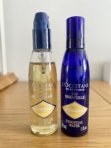 L'Occitane Makeup Remover (30ml) And ESSENTIAL WATER (30ml)
