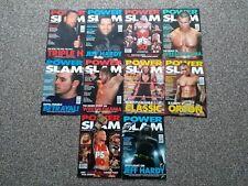 Power Slam Revistas Wwf Wwe Wcw-x 10 Hasbro John Cena Undertaker Randy Orton