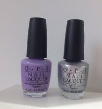 NEW OPI NAIL VARNISH X2 15ML DO YOU LILAC IT AND TURN ON THE HAUTE LIGHT