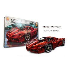 Creator Expert Ferrari 599 GTB Red Sports Car V8 Engine Opening Doors