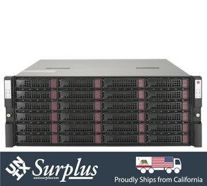 "4U Supermicro 24 Bay 3.5"" 2 Node SAS3 12Gbps External Storage JBOD CSE-947 2PS"