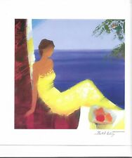 Lithograph Signed Emile Bellet Beaute Marine Seriolithograph with C of A