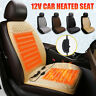 Universal 12V Electric Heated Car Front Seat Cover Pad Thermal Warmer Cushion